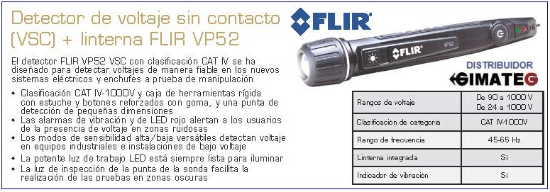 flir vp52 detector voltage gimateg