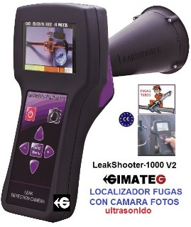 localizadores fugas aire y gases comprimidos leakshooter gimateg