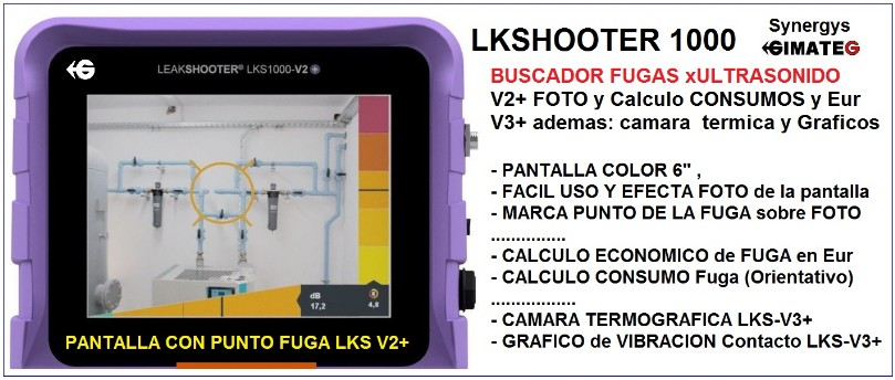 calculo coste fuga aire comprimido leakshooter gimateg